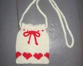 Hand Knitted Shoulder Bag