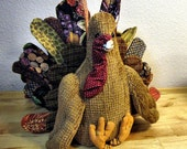 Pdf Pattern Turkey Bird Sewing Pattern Fall Decoration