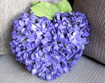 Heart Flower Pillow
