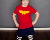 Short Sleeve Wonder Girl Tee