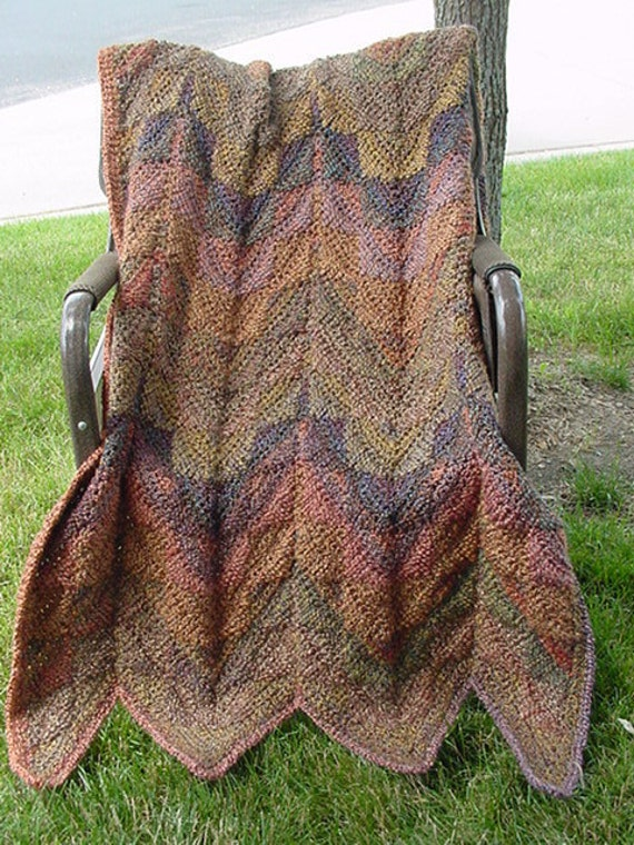 Darlene's   HANDMADE   Southwest   Afghan,  Rich in color and Texture ///  PLUS  a  FREE  Pattern   ///