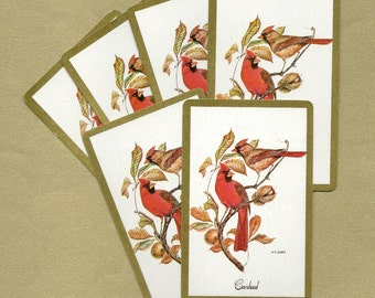 Cardinal Playing Cards for ATCs, Collage, Scrapbooking, Paper Arts, Assemblage and MORE PSS 1231