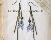 lace earrings -AMERLA-