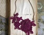 lace necklace -MIRIELLE- (last one)