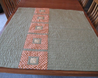 Modern Posh Tot Baby  Quilt with Amy Butler Fabric