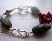 OCEAN Of FORMS Sterling Silver Bracelet