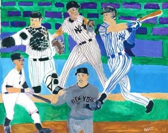 Five Great Yankees