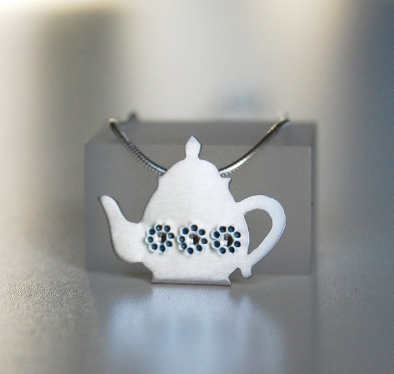 Tea Pot Pendant