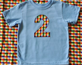 Boutique Custom Boys Birthday Gift appliqued shirt 1 2 3 4 5 6 7 8 maddie kate