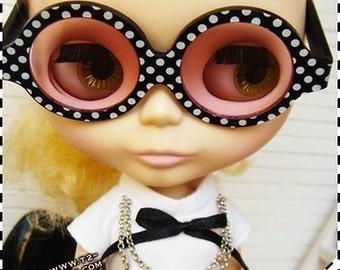 t2-tsquare S02-DBP Blythe glasses Polka Dot
