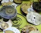 Mixed Bag of Watch Parts