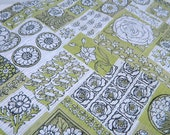 Vintage Fabric-Green-