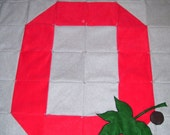 The Ohio State Buckeye Quilt