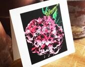 Hydrangea Blank Note Card