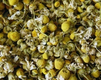 Whole Dried Chamomile Flowers- 1 pound