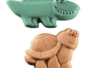 Kids Reptiles Soap Mold