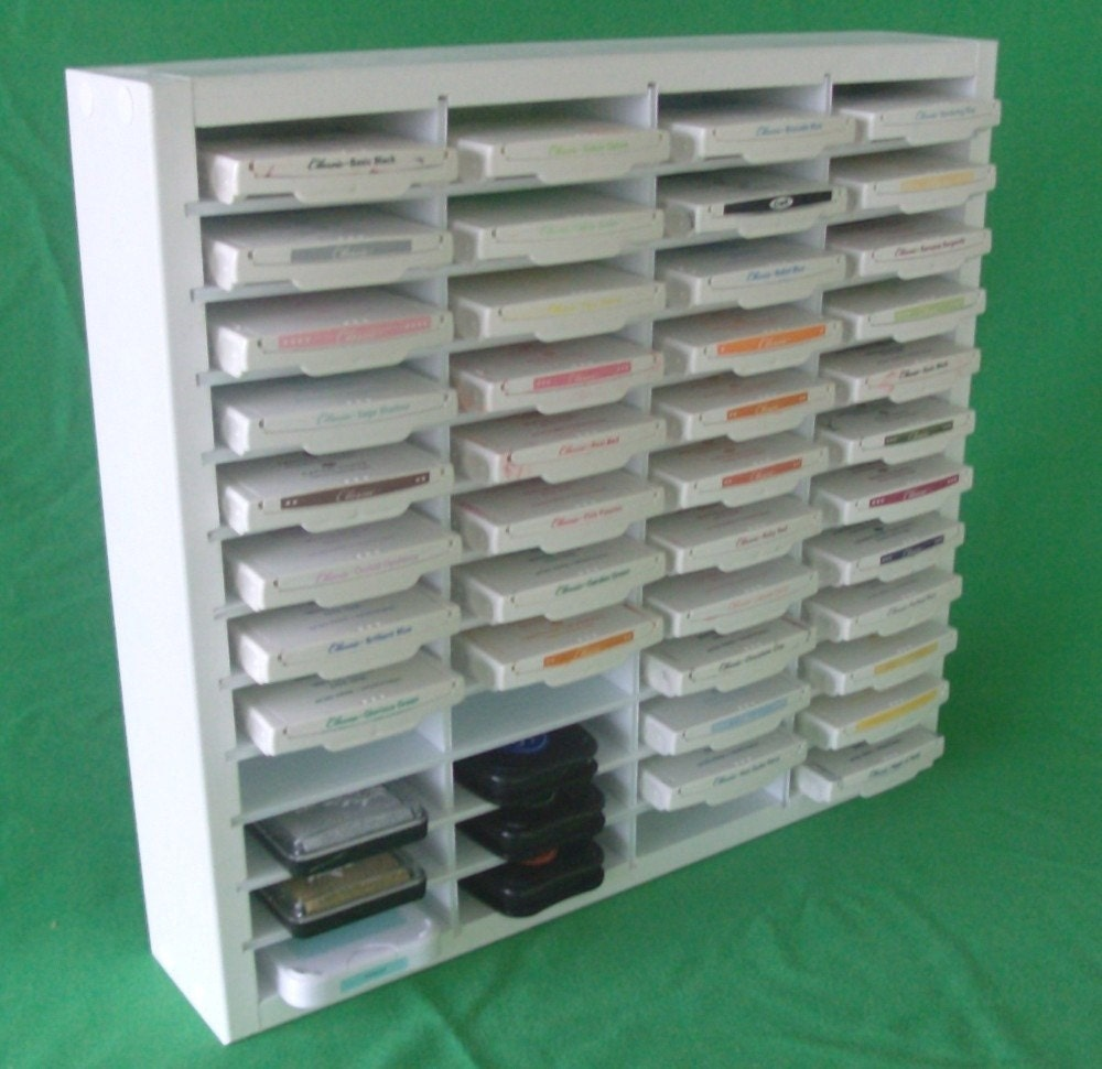 Stamping Ink Pad Organizer Storage Shelf