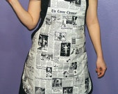 WOOF WOOF Read All About it  Apron- ON SALE