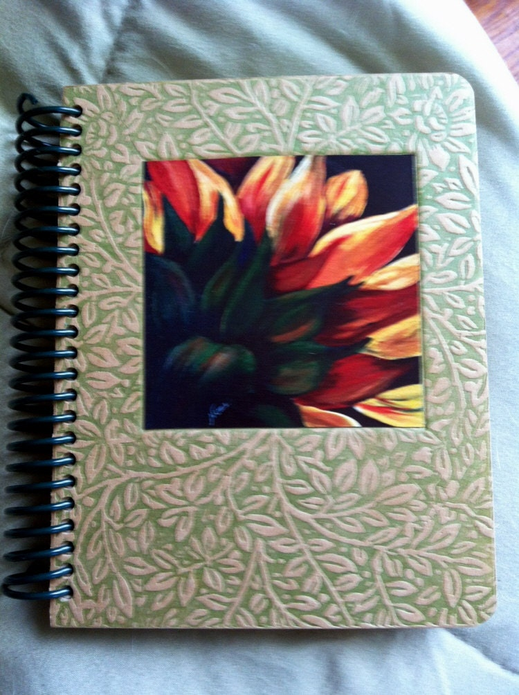 Flower Lined Paper