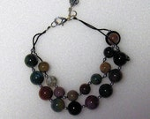 Fancy Jasper Row Counter Bracelet