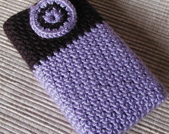 Crochet Cell Phone cozy, Ipod cover (No1.)- Pattern