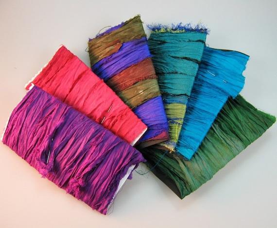 Silk Sari Ribbon Variety of Colors