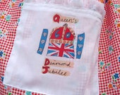 Street Party Diamond Jubilee Apron. Queens Diamond Jubilee.