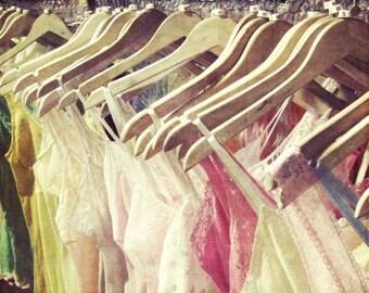 Art photography lingerie lace summer print girls room art boho boudoir vintage lace print 'Summer Wardrobe'