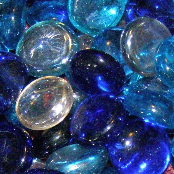 Replacement Stones - Blue / Clear Tones