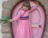 Princess Mulan Asian HANDMADE boutique dress in custom size 2T-7 by Tinkerella Creations be ready for Chinese new year