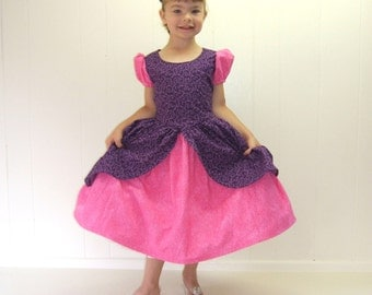Cinderella's BEAUTIFUL stepsister ANASTASIA  dress in pink and purple  custom made for your moody little villain, heroine, or princess