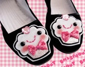 I Love Cupcakes Mary Jane Shoes - size 9