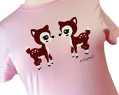 Deer Shirt - Fawn Plus Size T-Shirt - Choose from 1X or 2X