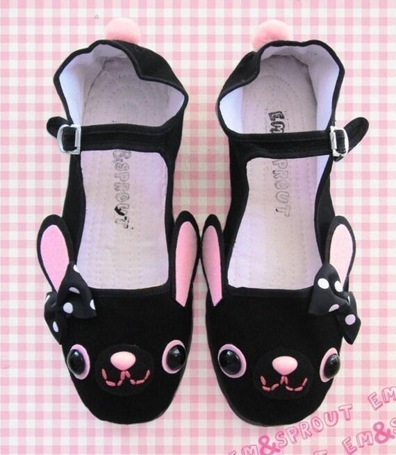 Happy Bunny Mary Jane Shoes - size 10