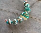 Lentil Soup Lampwork Beads