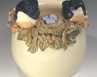 Pottery Bowl, Polly and Pete Plus 3