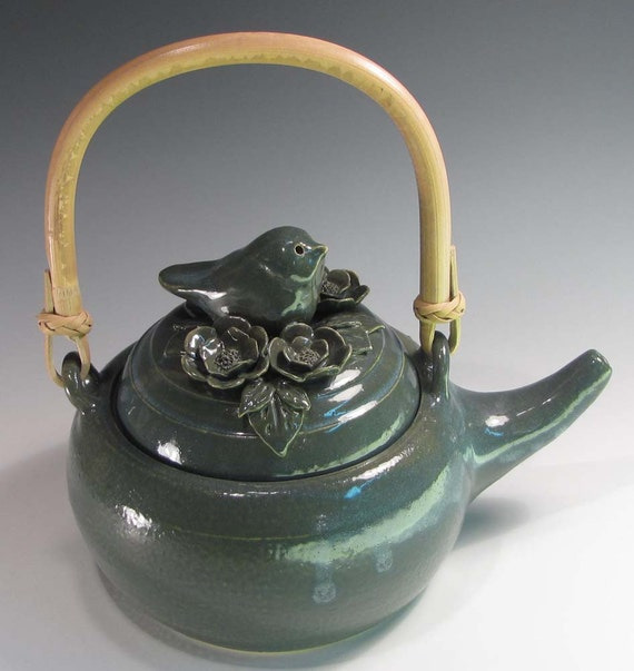 Pottery Teapot, Tea for Two