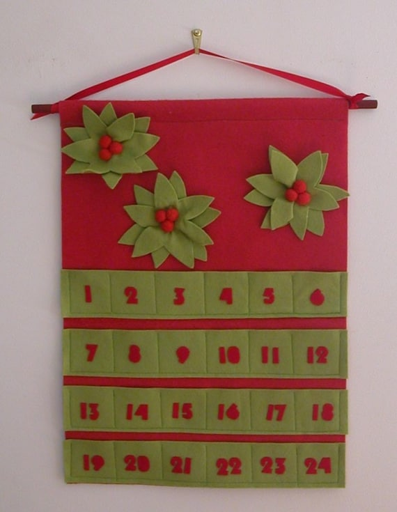 Felt Advent Calendar  (Unfilled)