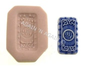 MOLD - ASIAN BEAD 1 - Handcrafted Polymer Clay Mold