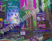 reserved listing for shawbeme: 11x14 times square, nyc