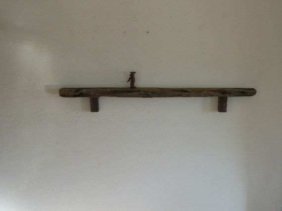 4 Foot Skinny Barnwood Wall Shelf Great Rustic By Barnwood4u