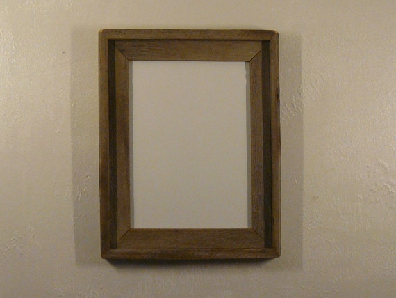 Barnwood picture frame 9x12  mat of your choice