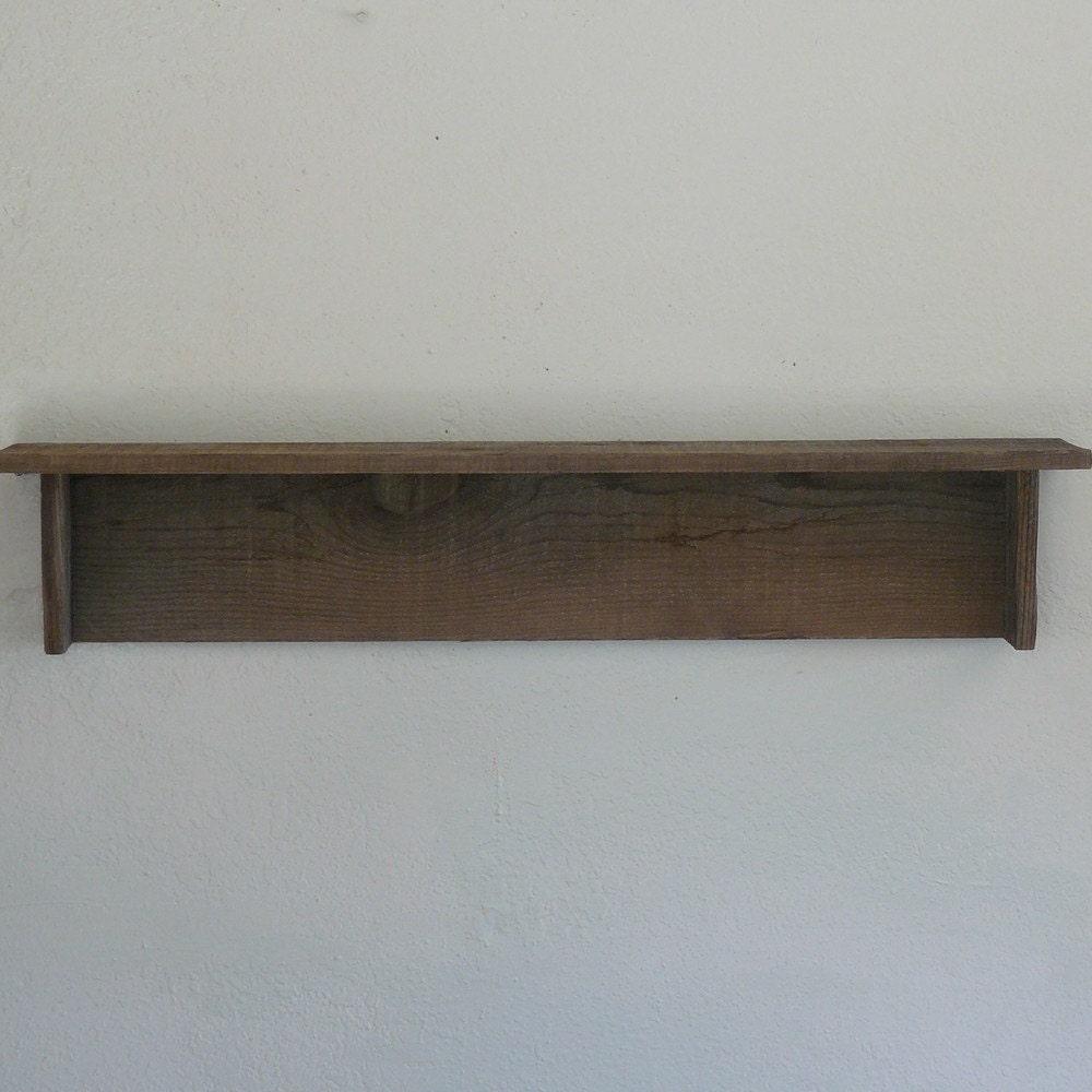 Rustic Barnwood Wall Shelf 36 Inch By Barnwood4u On Etsy