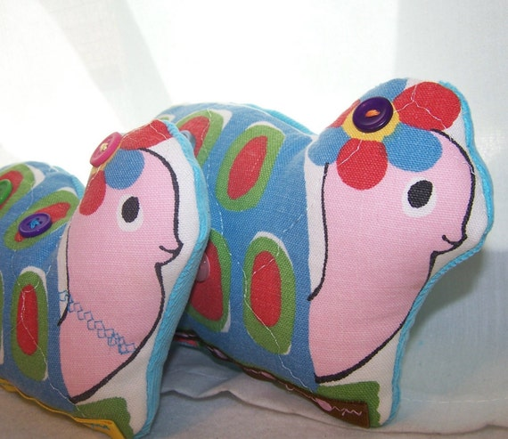 Vintage Inspired Upcycled Snail Pair