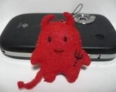 Mo the lil devil phone charm\/keychain