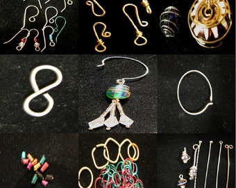 Findings Jewelry tutorial, DVD instructional video, Make you own jewelry Findings