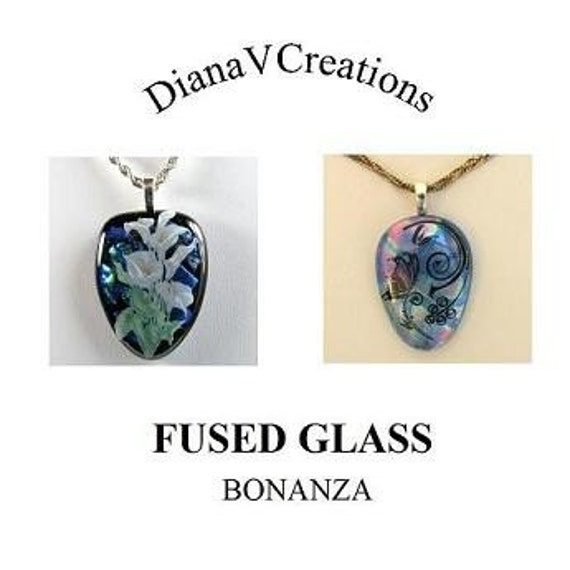 FUSED GLASS Tutorial DVD, Multi Layered glasscapes, Fused Glass Instruction