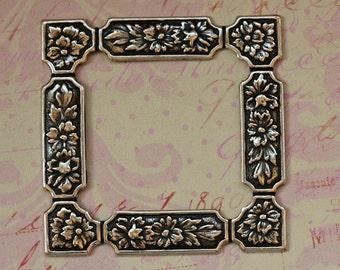 Silver Floral Frame 1709