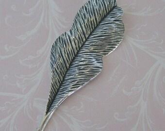 Silver Leaf Embellishment 589