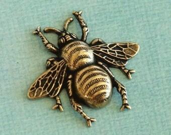 LAST ONE Brass Bee Finding 2041